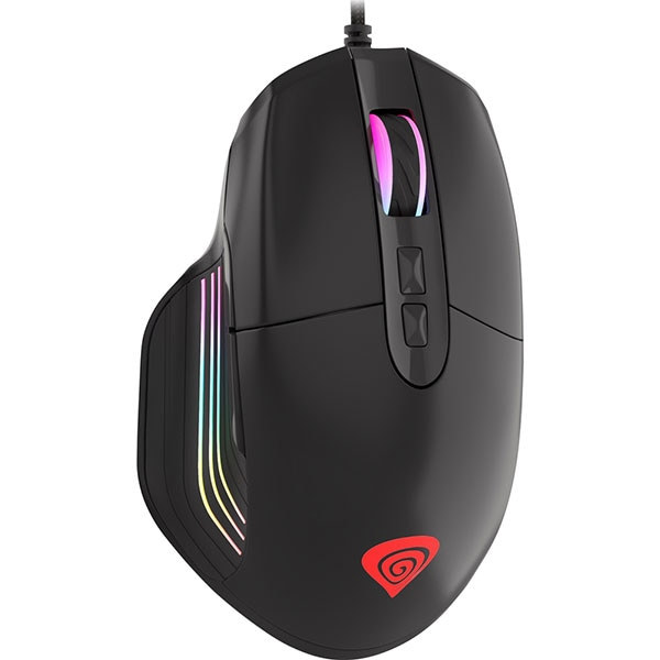 Mouse Gaming NATEC Genesis Xenon 330, 4000 dpi, negru