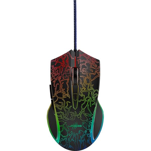 Mouse Gaming HAMA Reaper 220 Illuminated, 4800 dpi, USB, negru