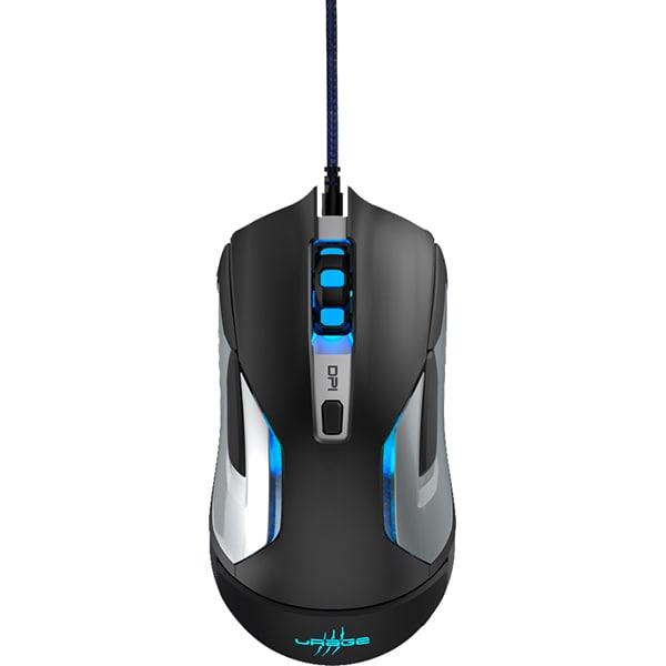Mouse Gaming HAMA Reaper 320, 10000 DPI, USB, negru-gri metalic