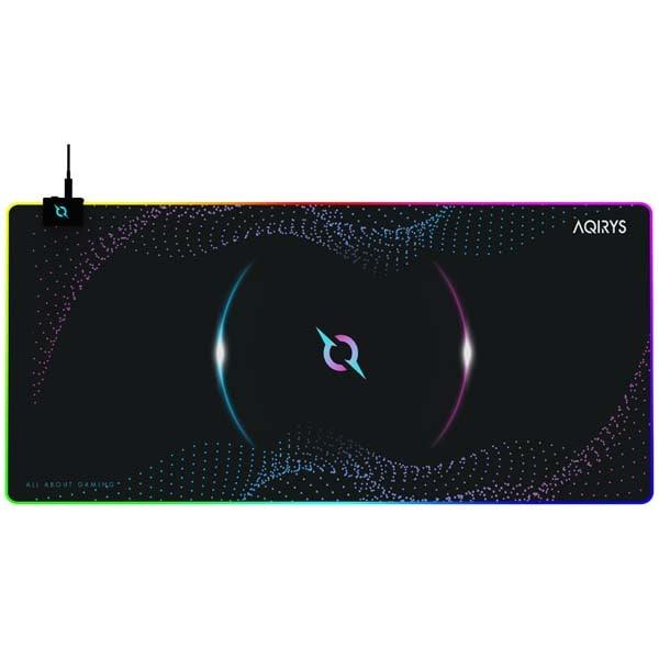 Mouse Pad Gaming AQIRYS Eclipse Extra Large, negru