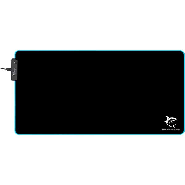 Mouse Pad Gaming WHITE SHARK MP-1861 Luminous XL, negru