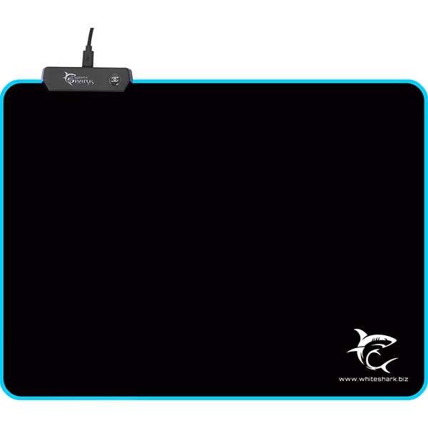 Mouse Pad Gaming WHITE SHARK MP-1862 Luminous L, negru