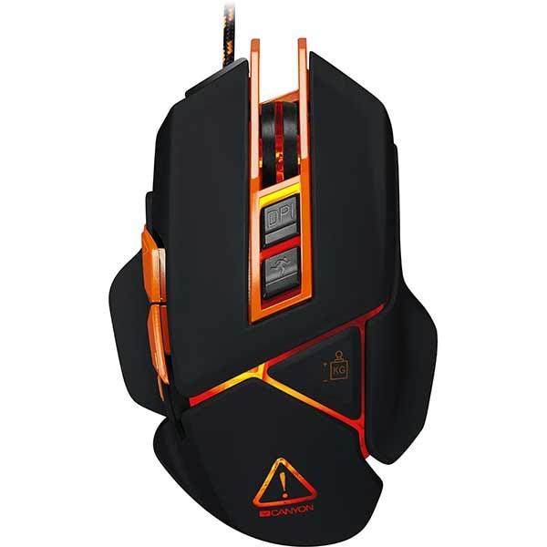 Mouse Gaming CANYON Hazard CND-SGM6N, 6400 dpi, negru