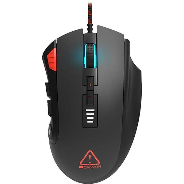Mouse Gaming CANYON Merkava CND-SGM15, 8000 dpi, negru
