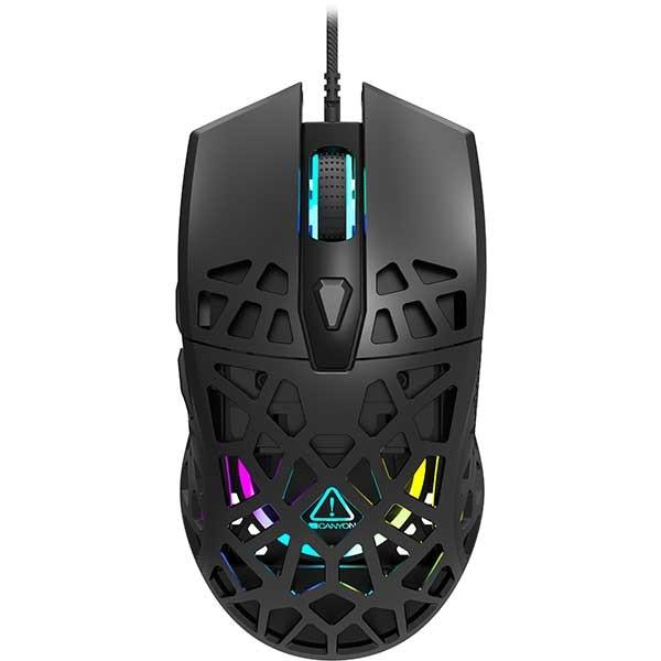 Mouse Gaming CANYON Puncher CND-SGM20B, 12000 dpi, negru