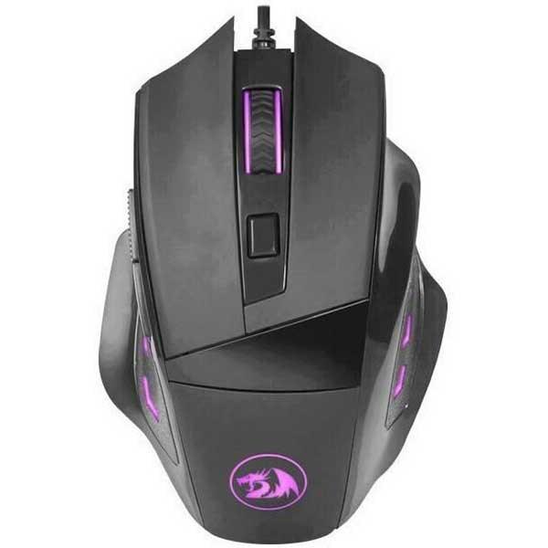 Mouse Gaming REDRAGON Phaser M609-BK, 3200 dpi, negru