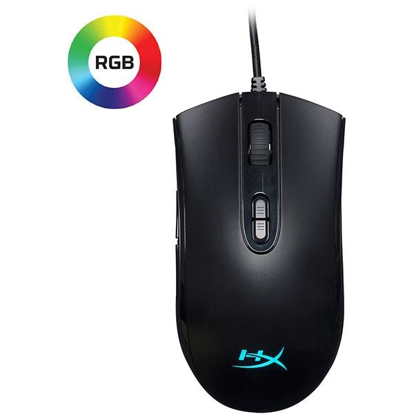 Mouse Gaming HyperX Pulsefire Core, 6200 dpi, negru