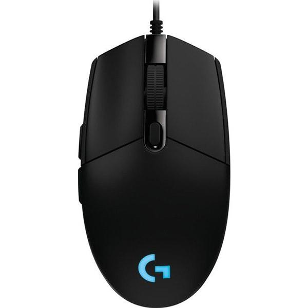 Mouse Gaming LOGITECH G102 Prodigy, 6000 dpi, negru