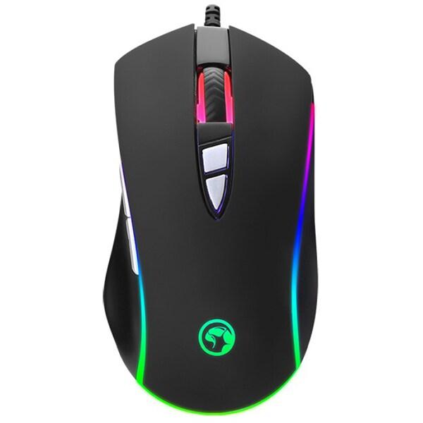 Mouse Gaming MARVO M318, 4800 dpi, negru