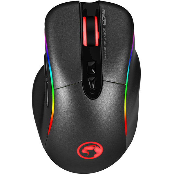 Mouse Gaming MARVO G955, 12000 dpi, negru