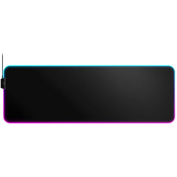 Mouse pad gaming STEELSERIES QcK+ Prism Cloth XL, iluminare RGB, PC/MAC