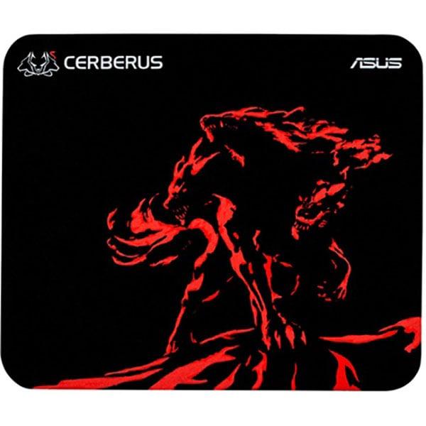 Mouse Pad Gaming ASUS Cerberus Mat Mini, negru-rosu