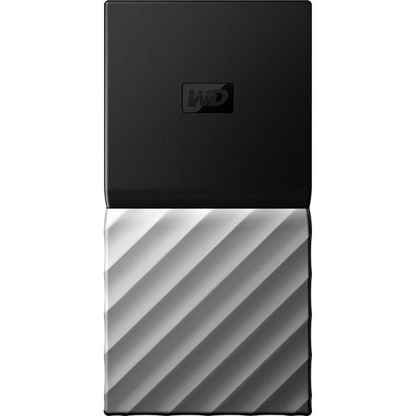 SSD portabil WD My Passport, 512GB, USB 3.1 Type C Gen 2, negru-gri