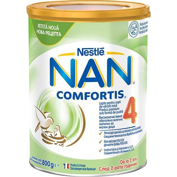 Lapte praf NESTLE NAN Comfortis 4 12418559, 2 ani+, 800g