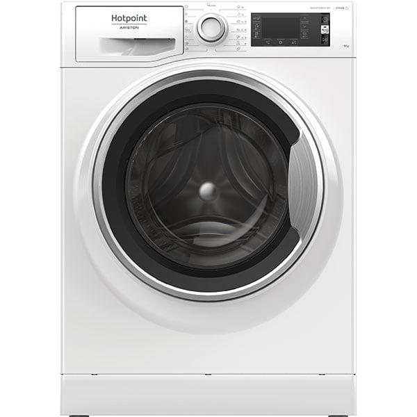 Masina de spalat rufe frontala HOTPOINT NLCD 945 WS A EU N, 9 kg, 1400rpm, Clasa B, alb