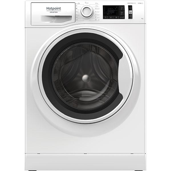 Masina de spalat rufe frontala HOTPOINT NM11 744 WW A EU N, 7 kg, 1400rpm, Clasa C, alb