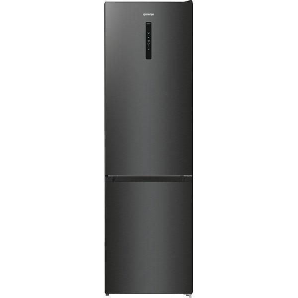Combina frigorifica GORENJE NRK620EABXL4, No Frost Plus, 331 l, H 200 cm, Clasa E, negru