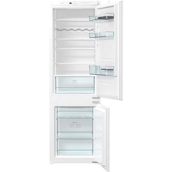 Combina frigorifica incorporabila GORENJE NRKI4182E1, No Frost, 248 l, H 177.2 cm, Clasa F, alb