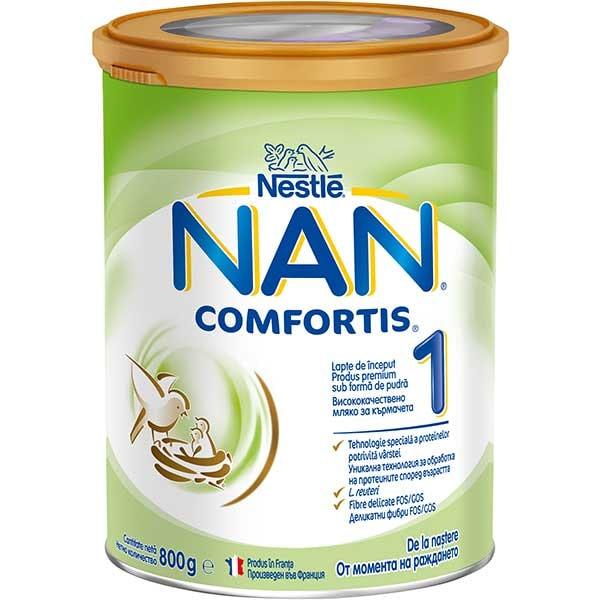 Lapte praf NESTLE NAN Comfortis 1 12377913, 0 luni+, 800g