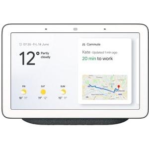 Boxa inteligenta GOOGLE Nest Hub, Wi-Fi, Bluetooth, Ecran Touch, negru