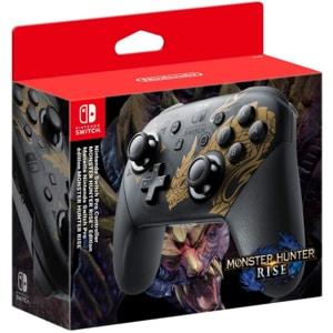 Controller NINTENDO Switch Pro (Monster Hunter Rise Edition), negru