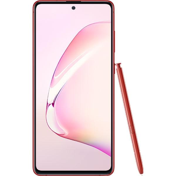 Telefon SAMSUNG Galaxy Note 10 Lite, 128GB, 6GB RAM, Dual SIM, Aura Red