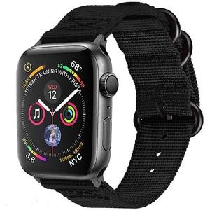 Bratara pentru Apple Watch 38mm/40mm, PROMATE Nylox-38, nylon, negru