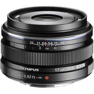 Obiectiv foto OLYMPUS M.ZUIKO Digital ED 17mm f/1.8, negru