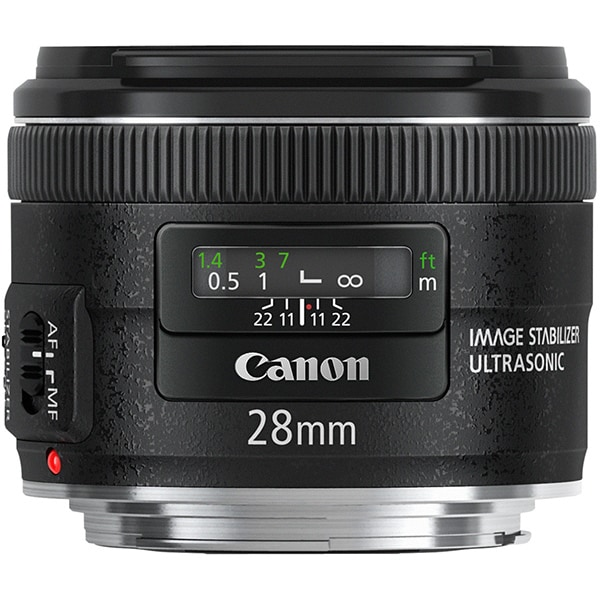 Obiectiv foto CANON EF 28mm f2.8 USM