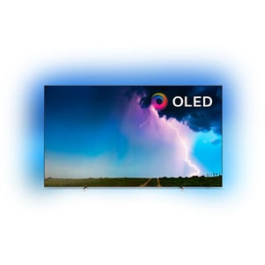 Televizor OLED Smart PHILIPS 65OLED754/12, Ultra HD 4K, HDR, Ambilight, 164 cm
