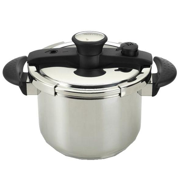 Oala sub presiune DELIMANO Quick Pot, 6l, otel, argintiu