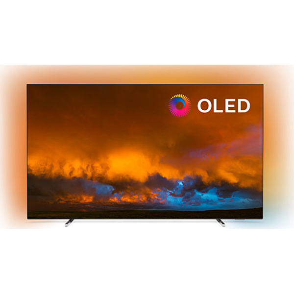 Televizor OLED Smart PHILIPS 55OLED804/12, Ultra HD 4K, HDR, Ambilight, 139 cm