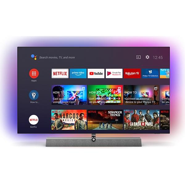 Televizor OLED Smart PHILIPS 65OLED935, Ultra HD 4K, HDR10+, 164cm