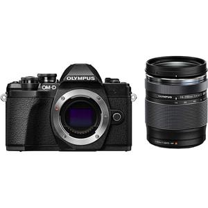 Aparat foto Mirrorless OLYMPUS E-M10 Mark III, 16.1 MP, 4K, Wi-Fi, negru + Obiectiv EZ 14-150mm II