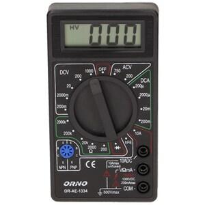 Multimetru universal ORNO OR-AE-1334, 9V, ecran digital