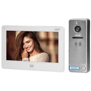 Interfon video cu fir ORNO OR-VID-EX-1060/W,LCD, 7 inch, alb-gri