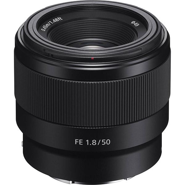 Obiectiv foto SONY SEL50F18F.SYX, montura FE, 50 mm  f/1.8, negru