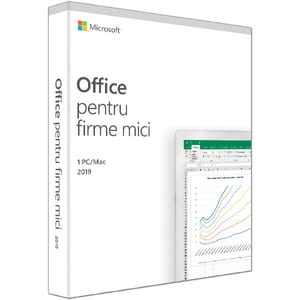 Microsoft Office Home and Business 2019, Romana, 1 PC/Mac