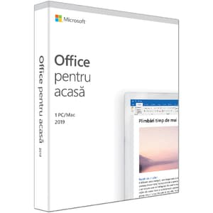 Microsoft Office Home and Student 2019, Engleza, 1 PC/Mac