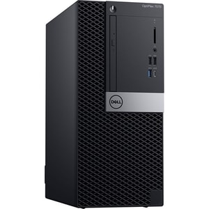 Sistem Desktop PC DELL OptiPlex 7070 MT, Intel Core i7-9700 pana la 4.7 GHz, 16GB, SSD 512, Intel UHD Graphics 630, Windows 10 Pro