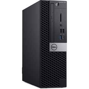 Sistem Desktop PC DELL OptiPlex 7070 SFF, Intel Core i7-9700 pana la 4.7GHz, 16GB, SSD 512GB, Intel UHD Graphics 630, Linux