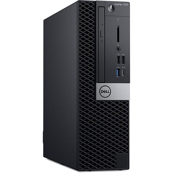 Sistem Desktop PC DELL OptiPlex 7070 SFF, Intel Core i7-9700 pana la 4.7GHz, 16GB, SSD 512GB, Intel UHD Graphics 630, Linux