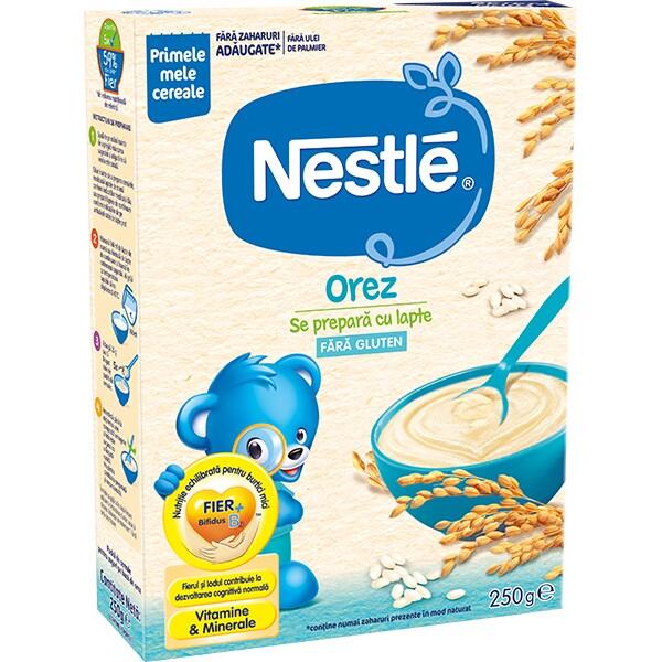Cereale NESTLE Orez - Inceperea diversificarii 12385734, 0 luni+, 250g