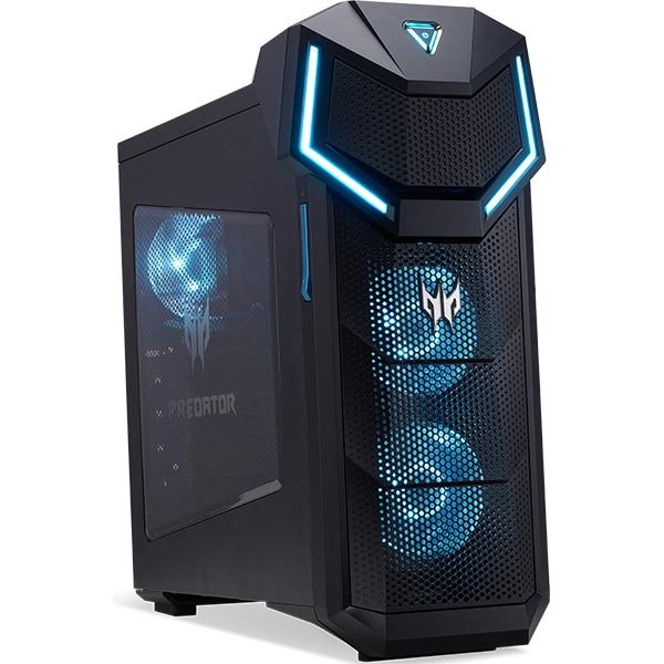 Sistem Desktop Gaming ACER Predator Orion 5000, Intel Core i5-8600K pana la 4.3GHz, 16GB, 2TB + SSD 256GB, NVIDIA GeForce RTX 2070, Windows 10 Home