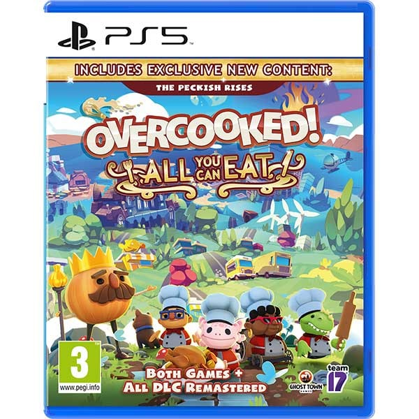 Overcooked! All You Can Eat Dual Pack PS5