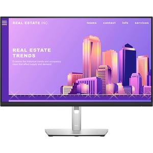 "Monitor LED IPS DELL P2722H, 27"", Full HD, 60Hz, argintiu"