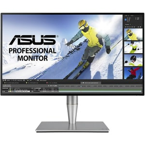 """Monitor LCD IPS ASUS ProArt PA27AC, 27"""", WQHD, 60Hz, Flicker-Free, gri-negru"""