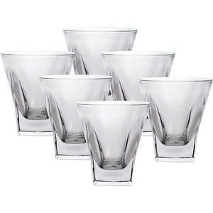 Set pahare whisky RCR CRISTALLERIA Fusion, 6 piese, 0.39l, sticla