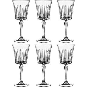 Set pahare vin RCR CRISTALLERIA Timeless, 6 piese, 0.3l, sticla