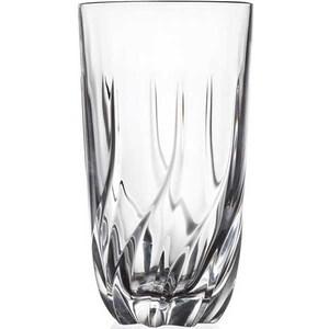 Set pahare long drink RCR CRISTALLERIA Trix, 6 piese, 0.47l, sticla